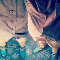lookbook.greypolo#khakipants*blueboot Pants, Fashion, Trouser Pants, Moda, Fashion Styles, Women's Pants, Women Pants, Fashion Illustrations, Trousers