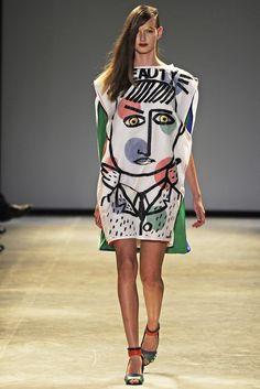 Art meets fashion - Jean-Charles de Castelbajac RTW Spring 2014