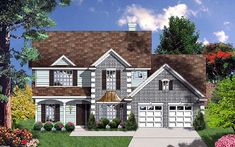 House Plan 77099 at FamilyHomePlans.com