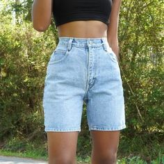 Cute Casual Outfits, Short Outfits, Spring Outfits, Vintage Summer Outfits, Summer Shorts Outfits, Summer Fashion Outfits, Simple Outfits, Winter Fashion, Mode Pastel