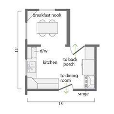 39 best kitchen floor plans images floors kitchen kitchen floors rh pinterest com large kitchen house plans big kitchen house plans