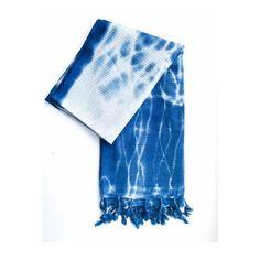 Indigo Turkish Bath Towel