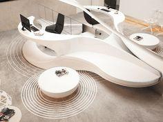 Dental Clinic reception by Yovo Bozhinovski | 設計•香港