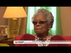 Maya Angelou: My son is 'my greatest gift'. This is actually a tribute to her mother. Stirring...
