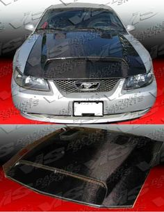 94-98 Mustang GTS GT500 STYLE Hood (CARBON FIBER)