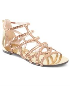 Vince Camuto Shoes, Emera Gladiator Flat Sandals Women's Shoes