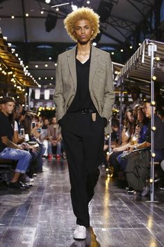 AMI Alexandre Mattiussi Menswear Spring Summer 2016 Paris - NOWFASHION