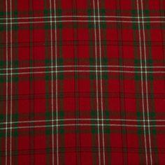 """Stoff """"Edward Tartan Check"""", dicker, gewebter Baumwollstoff, erhältlich als Meterware. Breite: 150 cm. Kariert. Farben: Rot, Grün.: Amazon.de: Küche & Haushalt"""