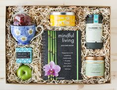 DIY Tea Party in a Box: The Detox Box