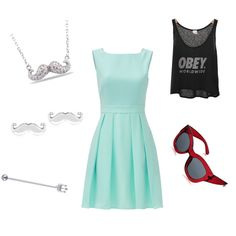 Jane-Homestuck by pandorasworld on Polyvore featuring Kate Spade, OBEY Clothing, Mondevio and A.J. Morgan