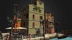 3D model: CityScene Venice Final by Ahmed Serbest