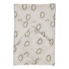 Organic White 2 x Top Quality Organic Fitted cot Bed Sheets 60x120cm