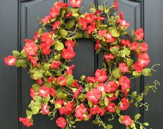 Summer Door Wreath Wreath Alternative Door by twoinspireyou
