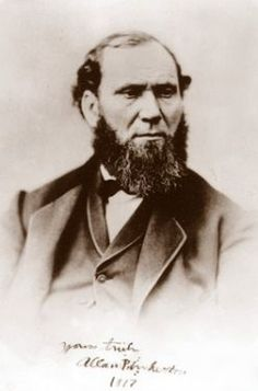 Allan Pinkerton & the history of the Pinkerton Agency