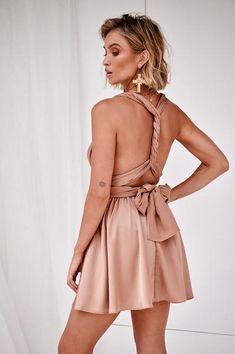The Perfect Date Satin Mini Dress (Mocha) – Xenia Boutique Cute Concert Outfits, Sadies Dress, Satin Mini Dress, Perfect Date, Satin Fabric, Boutique Dresses, Day Dresses, Online Boutiques, Party Dress