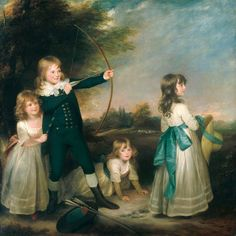 Peintures de Sir Henry William BEECHEY (1753-1839) !