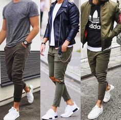 Mens fashion, casual outfits, casual styles, men's t shirts, men' Mode Outfits, Casual Outfits, Fashion Outfits, Fashion Trends, Fashion Guide, Fashion Ideas, Fashion Inspiration, Casual Dresses, Fashion Design