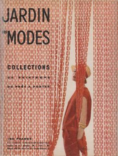 LE JARDIN DES MODES No.422 1957