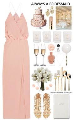 """""""Always a Bridesmaid"""" by palmtreesandpompoms ❤ liked on Polyvore featuring Elizabeth and James, Reception, Threshold, Sergio Rossi, RogaÅ¡ka, Alexis Bittar, Obellery and L.A. Girl"""