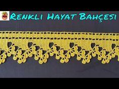 Crochet Border Patterns, Crochet Boarders, Crochet Lace Edging, Crochet Designs, Embroidery Patterns, Crochet Food, Cute Crochet, Knit Crochet, Crochet Potholders