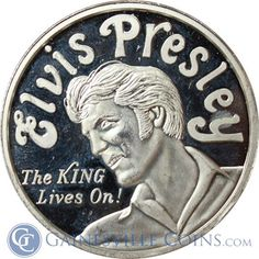 Hey, do a spin on the traditional Elvis costume and make your kid the un-dead King!  http://www.gainesvillecoins.com/submenu/641/silver-art-bars-and-rounds.aspx