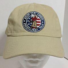 662ca71d479 USGA Member Men Baseball Cap 2005 US Open PINEHURST NO2 Golf Adjustable Hat   1