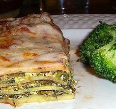 lasagna vegana de hierro