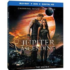 Jupiter Ascending (Blu-ray   DVD  Digital HD With UltraViolet) (Widescreen)