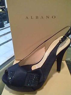 Albano - Sandalo blu fiocco