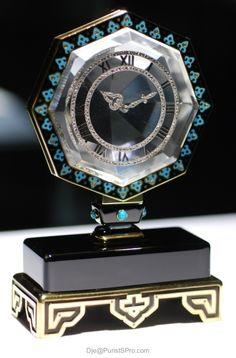 Vintage Cartier mystery clock