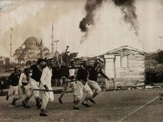 Fire Engine, Istanbul, Old Photos, Around The Worlds, Landscape, Concert, Painting, Image, Tubs