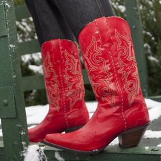 """Crush by Durango: 12"""" Red Western Boots for Women – Style #RD3485 - Durango Boot Company"""