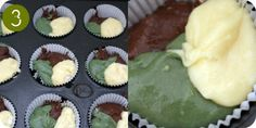 Army camouflage cupcakes