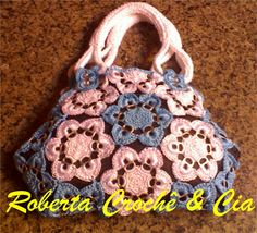 Pull tab crocheted purse