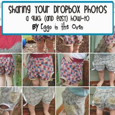 Sew & Tell: How-to: Share your dropbox photos