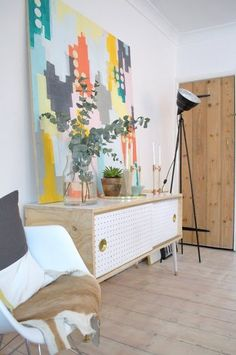 DIY Mid Century Inspired Credenza — Apartment Therapy Reader Project Tutorials   Apartment Therapy