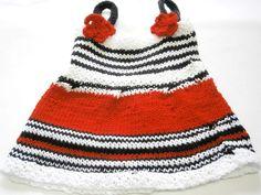 Süßes Babykleid Gr.50-62 oder Puppenkleid von BlackSheepFactory auf DaWanda.com