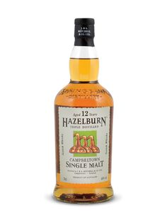 Hazelburn 12 Years Old Campbeltown Single Malt Springbank Whisky, Scotch Whisky, Whiskey, Wine And Beer, 12 Year Old, Bourbon, Gin, Liquor, Champagne