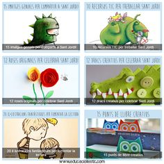 Tot i + per celebrar la Diada de Sant Jordi!