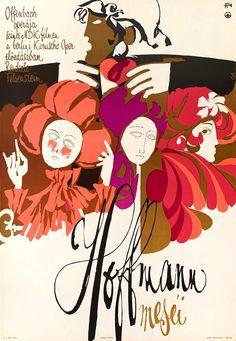 Antal Gunda - The Tales of Hoffmann, 1971 Original Vintage, Marlon Brando, Poster On, Fashion Branding, Short Stories, Budapest, Gallery, Disney Characters, Movie Posters