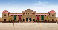 Railway Station Cantt. Karachi, Pakistan- 1913   Building after renovation.