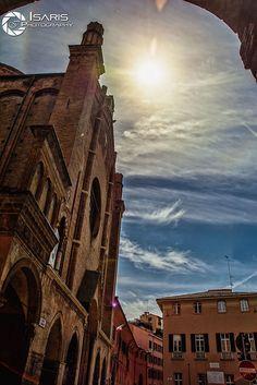 Bologna Sun. Bologna, Tower Bridge, Sun, Travel, Italia, Viajes, Destinations, Traveling, Trips