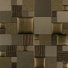 Mosaic Essentia AUTUMN FEM NappaTile™ Faux Leather Wall Tiles by Concertex