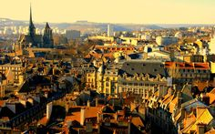 Beautiful Dijon, France.