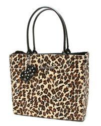 Lux De Ville leopard tote.  For work!