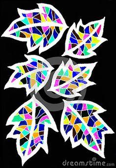 Illustration about A bright gel ink sketch of five colorful leaves on a black background,. Illustration of drawn, design, leaf - 132871716 Gel Pens, Black Backgrounds, Bright Colors, Sketch, Leaves, Colorful, Ink, Drawings, Illustration