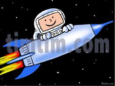 Free drawing of A Rocket Man from the category -Science & Space ...