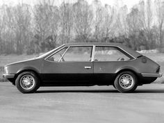Bertone Fiat 128 Coupe (1969) - Innocenti Mini Bertone Inspiration