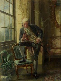 Rococo Style, Old Paintings, Global Art, Art Market, Artsy Fartsy, Talbots, 18th Century, Ramen, Gentleman