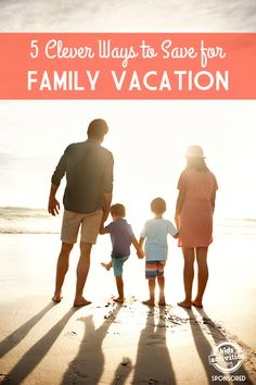 Save for family vacation and enjoy it without adding to your debt! Love these ideas.